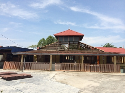Masjid Jamek ,Simpang Lima,Parit Buntar